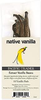 vanilla beans per ounce