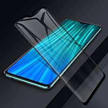 ROSSO Premium Tempered Glass Screen Protector For POCO M2 Temper Glass Edge to Edge Protection 9H Hardness Full Glue Cover Friendly Anti Scratch 9H FULL GLUE