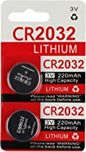 CR2032 Key Fob Remote Battery (2-Pack)