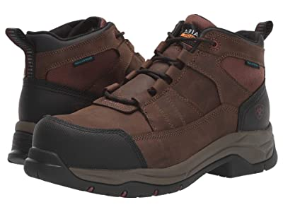 Ariat Telluride Work Waterproof Composite Toe (Distressed Brown) Men