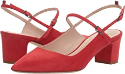 Diva Red Suede