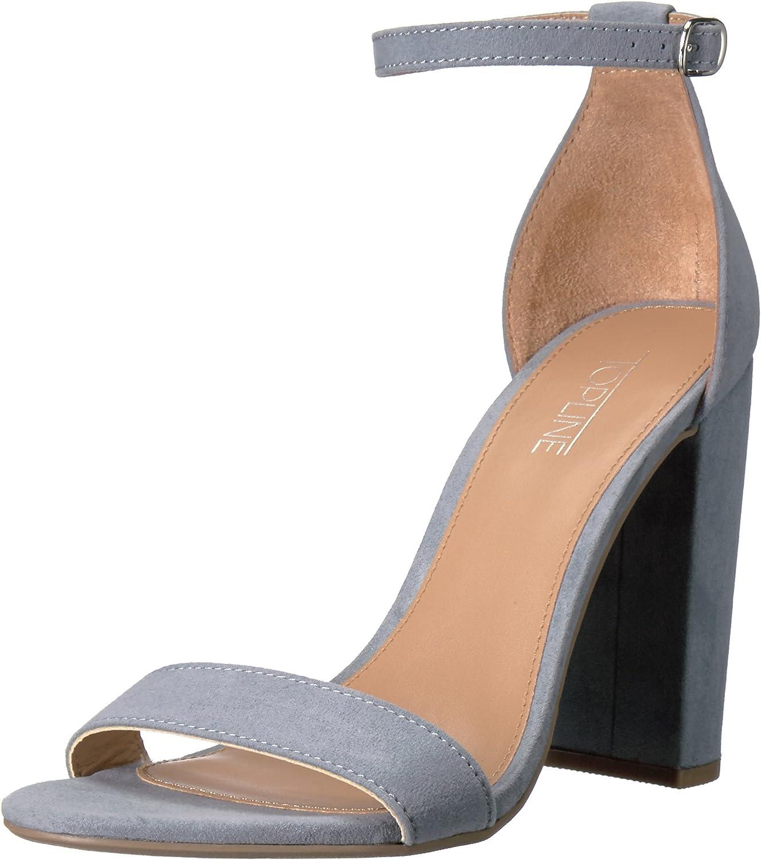 Topline Womens Caramel Dress Sandal