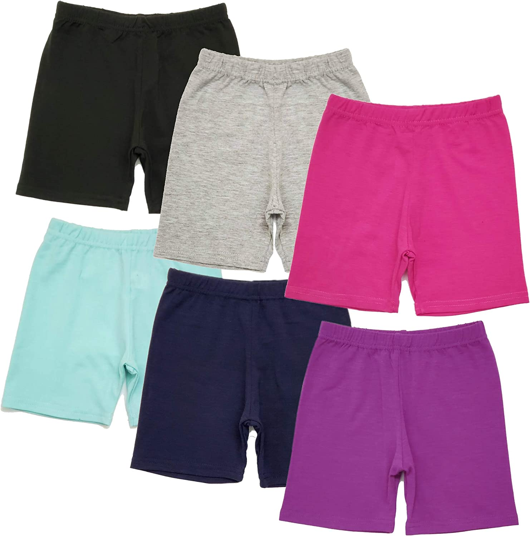 B-One Arlington Mall Kids Girls' 6-Pack Shorts 2021 spring and summer new Bike