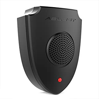 Ablest Ultrasonic Mole Repeller Chaser Pest Control Reject for Mice Cockroaches Spiders Bug Mosquitoes Ants