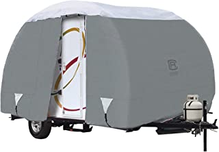 """Classic Accessories Over Drive PolyPRO3 Deluxe R-Pod Travel Trailer Cover, Fits up to 13' 7"""" Long - Trailer Body Only (80-..."""