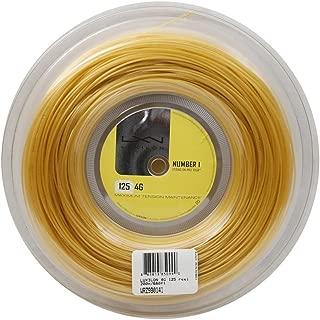 Wilson LUXILON 4G 125 Reel, Gold, 200m/16L-Gauge
