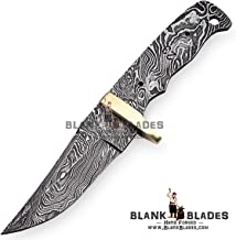 Hand Forged Damascus Steel Blank Blade 7.75