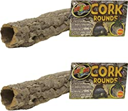 Zoo Med Natural Cork Bark Round, Small (2 Pack)