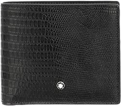 Montblanc Selection Lizard Man Wallet 8cc Black 116290
