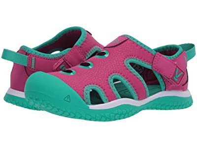 Keen Kids Stingray (Toddler/Little Kid) (Very Berry/Peacock Green) Girl