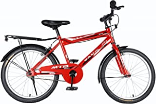 """Vaux Bicycle for Kids- Vaux Plus 20T Kids Bicycle for Boys. Ideal for Cyclist with Height (3'11"""" – 4'3"""") – Red."""