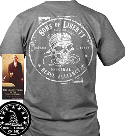668bee69b Sons of Libery Original Rebel Alliance T-Shirt. Made in USA