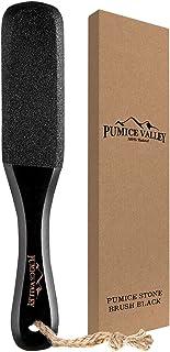 Pumice Stone Foot Scrubber - Pedicure Foot File with Handle for Dry Dead Skin - Callus Remover for Feet - Foot Scraper - E...