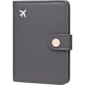 Zoppen RFID Reisepass Brieftasche Hülle dünne ID-Karte Brieftasche