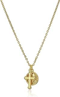 DiamondJewelryNY 14kt Gold Filled St Augustine of Hippo Pendant