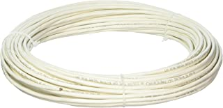 Custom Cable Connection 22 AWG 8 Conductor Stranded Shielded Plenum Cable CL3P White Jacket - 100 Foot Roll in a bag