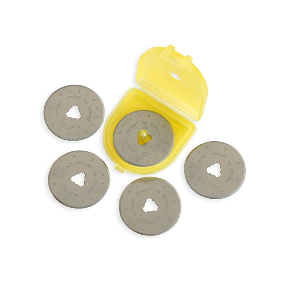 OLFA 28mm Rotary Blade Refill- 5 per Package