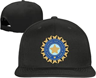 Men in Blue India Unisex Adjustment Baseball Hip Hop Cap Hat Black (5 colors)
