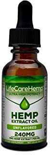 Life Care Hemp - Hemp Extract Oil for Pain Relief - Sleep, Stress, and Anxiety Support Supplement - Herbal Extract Drops -...