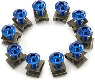 Mad Hornets 10set Round Head Main Jet 4mm 82-105 Fit for GY6 Motorcycle Scooter Carburetor PZ19