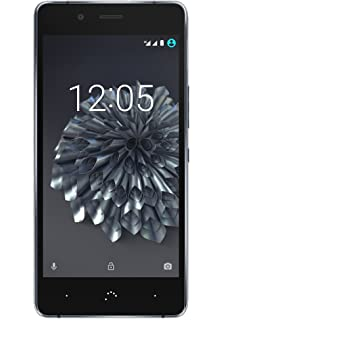 BQ Aquaris X5 Plus - Smartphone de 5in (4G LTE, Qualcomm Snapdragon 652 Octa Core, Memoria Interna de 16 GB, 2 GB RAM, cámara de 16 MP) Negro y Gris Antracita: Amazon.es: Electrónica