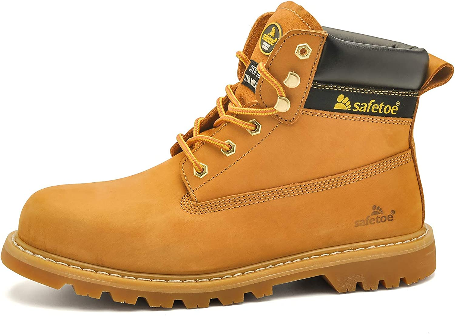 SAFETOE Steel Toe Work Boots for Women Price reduction Safety Manufacturer regenerated product Men Waterproof Boo