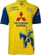 Chievo Verona Seizoen 2020/2021 Gara Home shirt met sponsor unisex volwassenen, geel/blauw, XL