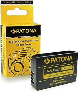 PATONA Bateria LP-E17 Compatible con Canon EOS M3 750D 760D Rebel T6i T6s 8000D Kiss X8i