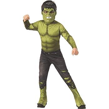 Disfraz de carnaval de Hulk Increíble, incluye mono musculoso y ...