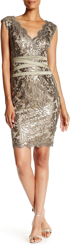 Tadashi Shoji Women's Paillette Dress