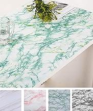 "Oxdigi Marble Contact Paper 24"" x196"" for Kitchen Countertop Cabinet Shelf Door Self-Adhesive Film Peel & Stick Wallpaper ..."