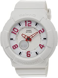 Casio BGA-133–7BDR (B130) B130(B130)–Women's Wrist Watch, Resin Strap/White