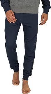 Diesel Men's Peter Trousers Pajama Bottom, Blue, Large