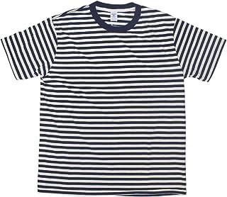 [ベルバシーン] 161550N ナローボーダー 半袖Tシャツ アメリカ製
