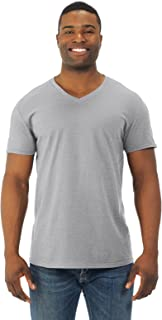 Fruit of the Loom Mens Jersey V-Neck T-Shirt (SFVR)