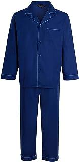 STONEBRIDGE Mens Classic Fit Cotton Blend Pyjama Set Traditional Pyjamas
