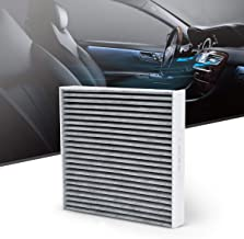 KAFEEK Cabin Air Filter Fits CF10285/87139-02090/87139-06040/87139-07010/87139-50060,Replacement for Toyota/Lexus/Scion/Subaru, Includes Activated Carbon