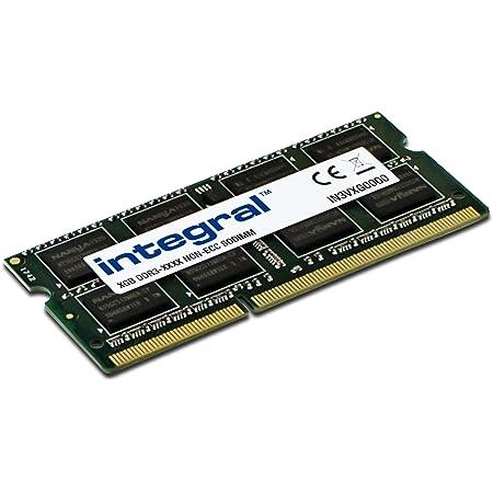 Integral 8GB kit DDR3 RAM 1600MHz SODIMM Laptop//Notebook PC3-12800 memory Green 2x4GB