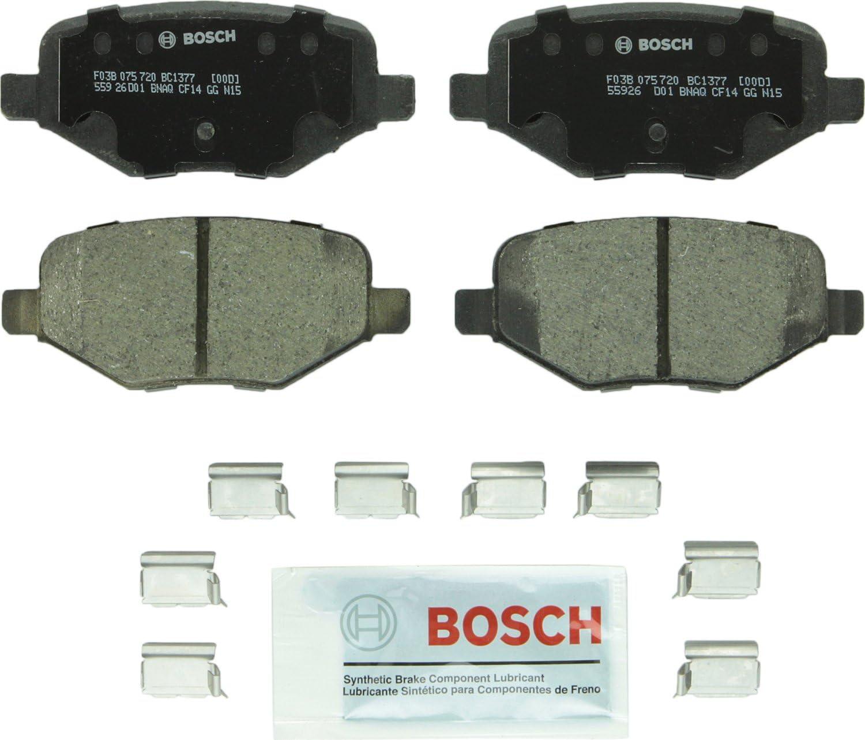 Bosch BC1377 QuietCast Max security 86% OFF Premium Ceramic Disc F Set Pad For: Brake