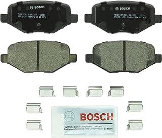 Bosch BC1377 QuietCast Premium Ceramic Disc Brake Pad Set For: Ford Edge, Explorer, Flex, Taurus, Police Interceptor Utili...