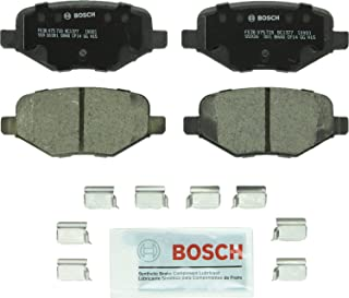 Bosch BC1377 QuietCast Premium Ceramic Disc Brake Pad Set For: Ford Edge, Explorer, Flex, Taurus, Police Interceptor Utility; Lincoln MKS, MKT, MKX, Rear