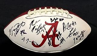 2014 Alabama Crimson Tide Team Signed Football V13000 Amari Cooper - PSA/DNA Certified - 5