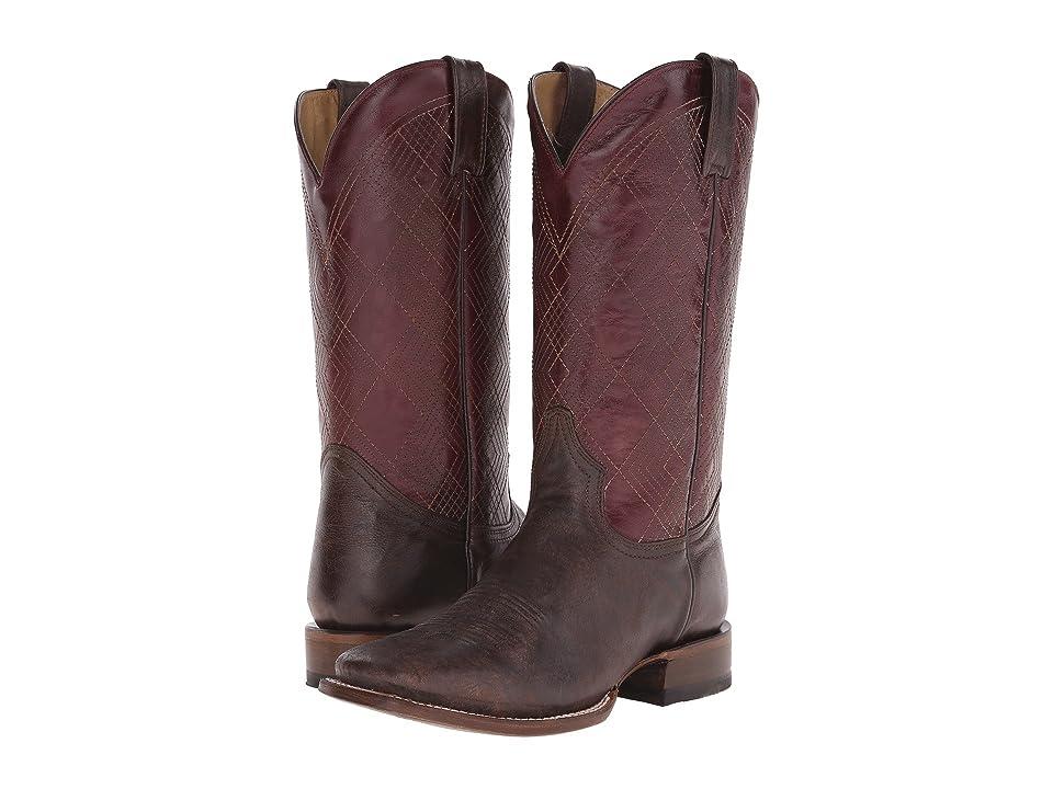 Roper Haze (Brown) Cowboy Boots