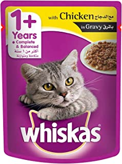 Whiskas Tender Bites Chicken in Gravy, Pouch, 85g x 24