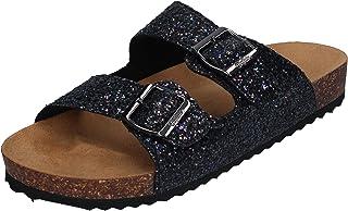 Buffalo Pantoletten - Renata BN16012241 - Glitter Black