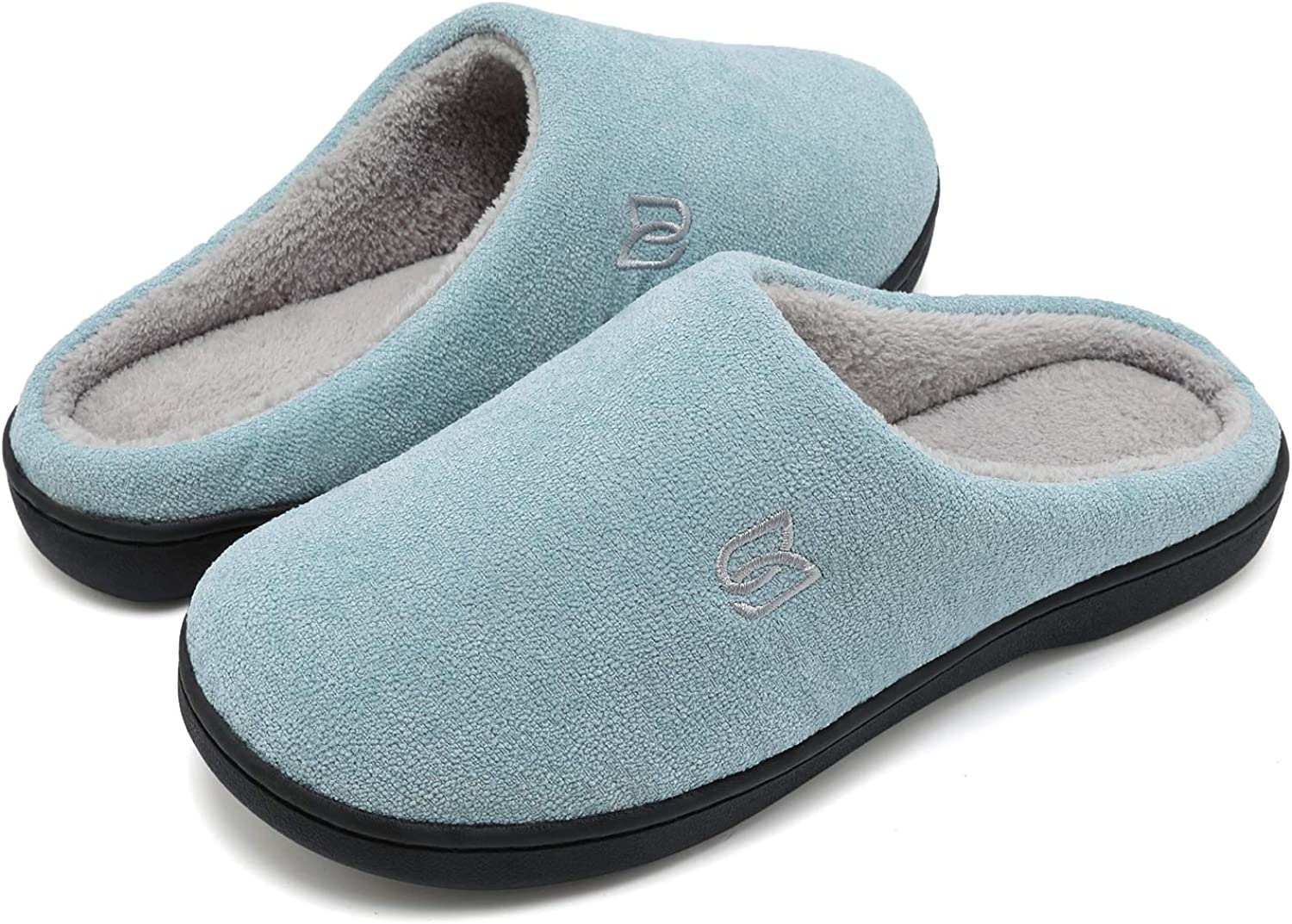 Women's Men's Memory Foam Slip On Plush Lined Comfy Max 48% OFF Slippers New color Hou