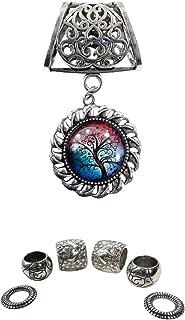 tree of life cabochon glass pendant slide pendant scarves DIY