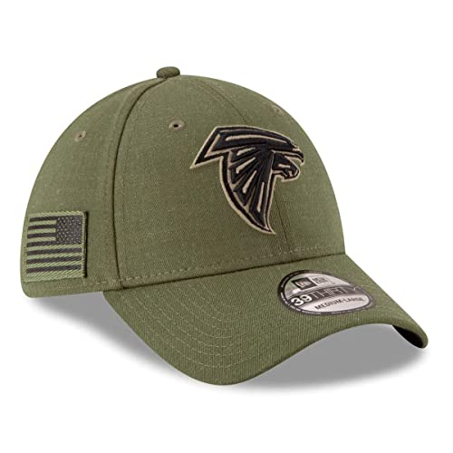 f9fc4091823 New Era Mens NFL 2018 Salute to Service 39Thirty Flex Fit Hat