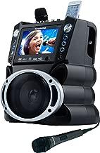 Karaoke USA GF839 Portable System, Black