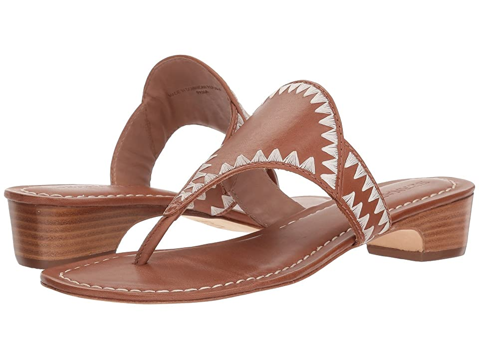 Bernardo Gabi Sandal (Luggage Antique Calf) Women